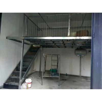 天津安装钢结构阁楼 楼梯